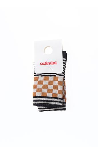 Chaussettes noir CATIMINI pour enfant