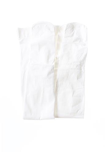 Collants blanc BALABALA X KIDILIZ pour fille
