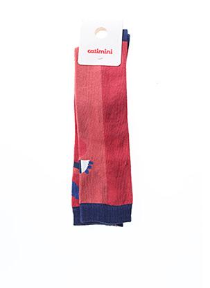 Chaussettes rouge CATIMINI pour enfant