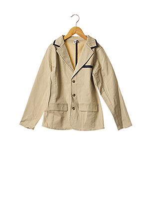Veste chic / Blazer beige 3 POMMES pour fille