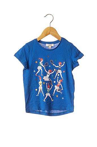 T-shirt manches courtes bleu CATIMINI pour enfant