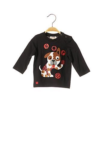 T-shirt manches longues noir CATIMINI pour enfant