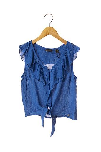 Top bleu BECKARO pour fille