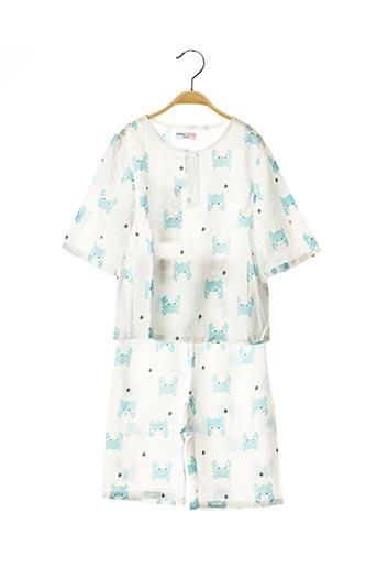 Pyjama bleu BALABALA X KIDILIZ pour garçon