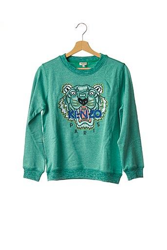 Sweat-shirt vert KENZO pour garçon