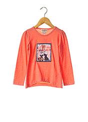 T-shirt manches longues orange CHIPIE pour fille seconde vue