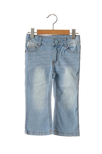 Jeans coupe droite bleu 3 POMMES pour fille
