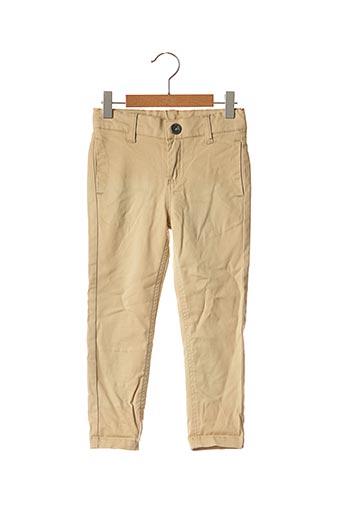 Pantalon casual beige 3 POMMES pour garçon