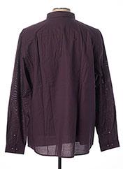 Chemise manches longues violet JACK & JONES pour homme seconde vue