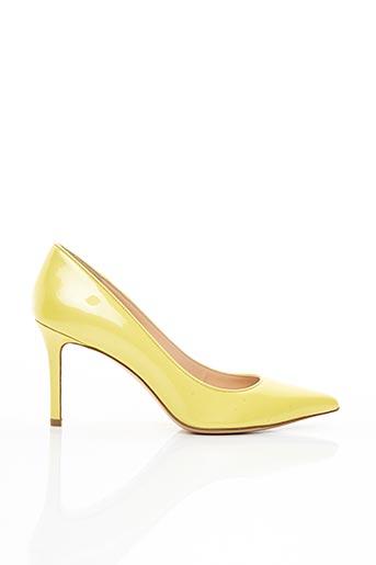 Escarpins jaune ALDO CASTAGNA pour femme
