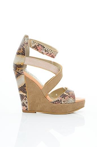 Sandales/Nu pieds beige SERAFINI pour femme