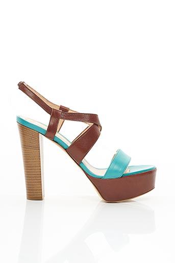 Sandales/Nu pieds bleu ALDO CASTAGNA pour femme