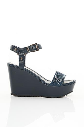 Sandales/Nu pieds bleu CESARE PACIOTTI pour femme