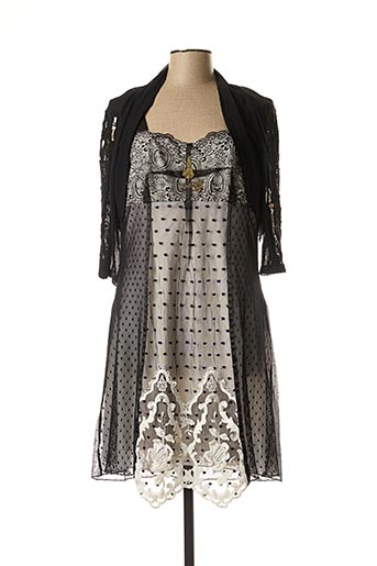 Veste/robe noir ELISA CAVALETTI pour femme