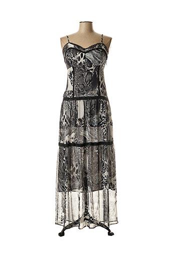 Robe longue noir EVA KAYAN pour femme