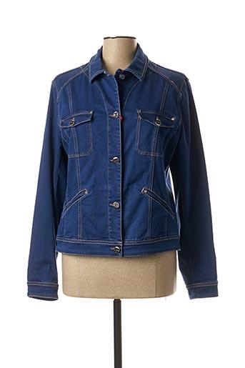 Veste en jean bleu JOCAVI pour femme