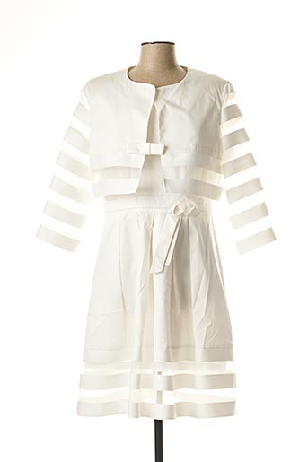 Veste/robe beige SONIA K pour femme