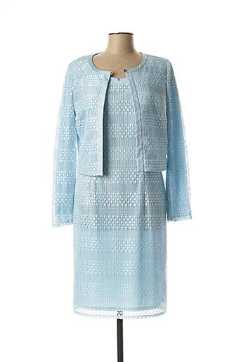 Veste/robe bleu VERA MONT pour femme