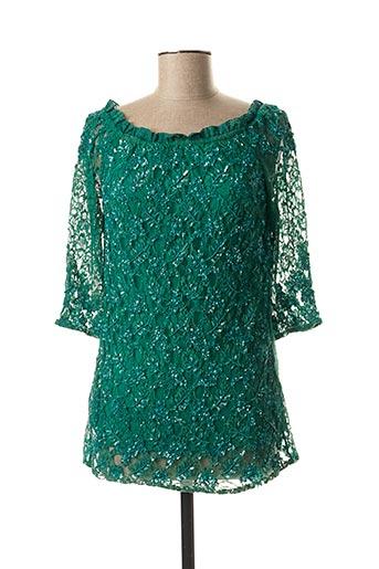 Top vert ASHLEY BROOKE pour femme