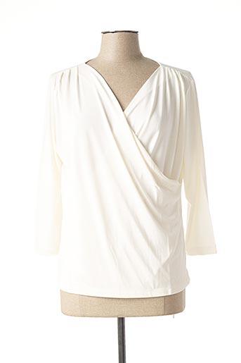 T-shirt manches longues blanc HEINE pour femme