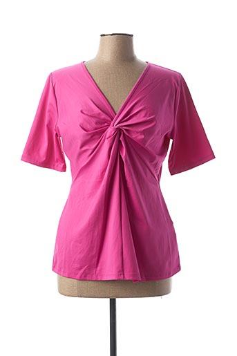 T-shirt manches longues rose HEINE pour femme
