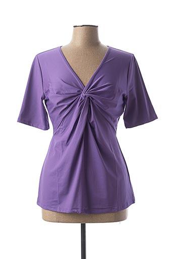 T-shirt manches longues violet HEINE pour femme