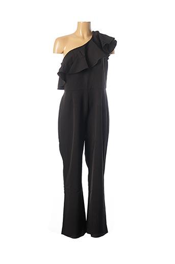 Combi-pantalon noir HEINE pour femme