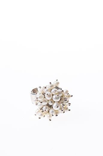 Bague blanc AMBROSIA PARIS pour femme