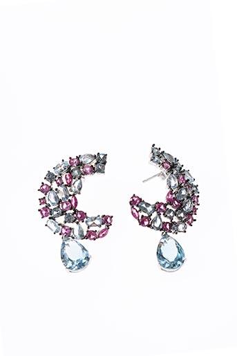 Boucles d'oreilles rose AMBROSIA PARIS pour femme