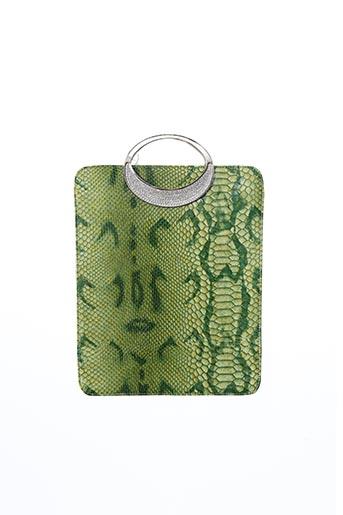 Pochette vert AMBROSIA PARIS pour femme