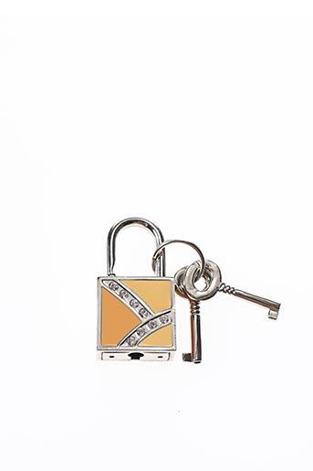 Porte-clé beige AMBROSIA PARIS pour femme