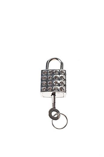 Porte-clé gris AMBROSIA PARIS pour femme