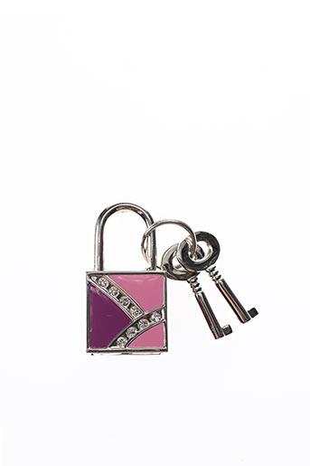 Porte-clé violet AMBROSIA PARIS pour femme