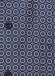 Chemise manches longues bleu MARVELIS pour homme seconde vue