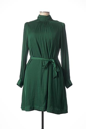 Robe courte vert ESSENTIEL ANTWERP pour femme