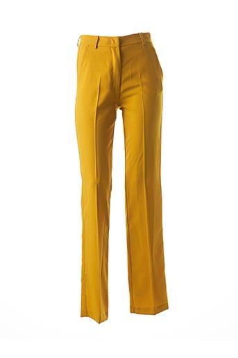 Pantalon chic jaune ESSENTIEL pour femme