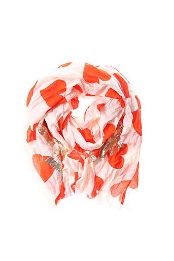 Foulard orange ESSENTIEL ANTWERP pour femme