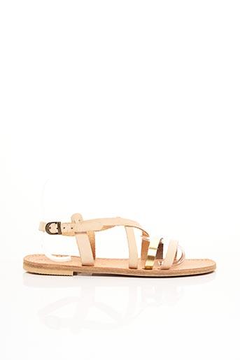 Sandales/Nu pieds rose LANAPO pour femme