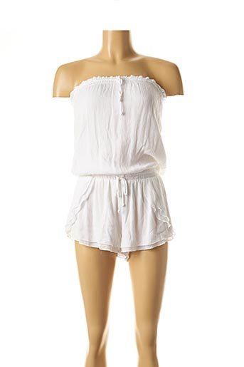 Combishort blanc SEAFOLLY pour femme