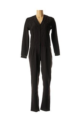 Combi-pantalon noir AMENAPIH pour femme
