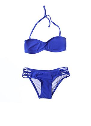 Maillot de bain 2 pièces bleu MON PETIT BIKINI pour fille