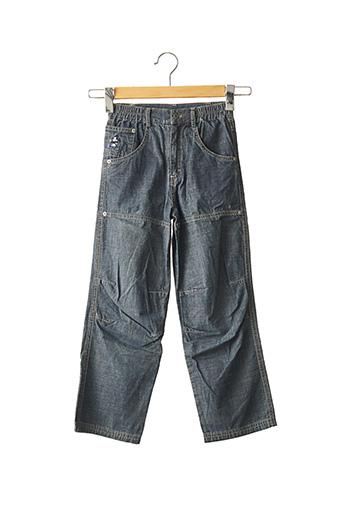 Jeans coupe droite bleu FLORIANE pour garçon