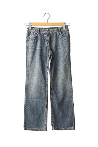 Jeans coupe droite bleu JEAN BOURGET pour garçon