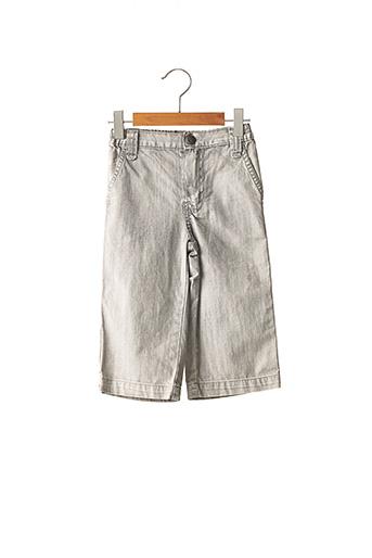 Jeans coupe droite gris JEAN BOURGET pour garçon