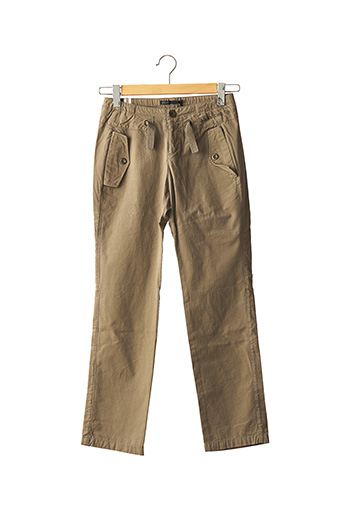Pantalon casual vert IKKS pour garçon
