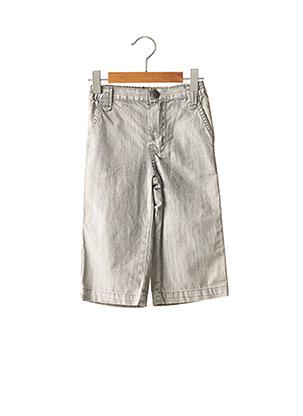 Jeans bootcut gris JEAN BOURGET pour garçon