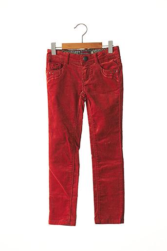 Pantalon casual orange CATIMINI pour fille