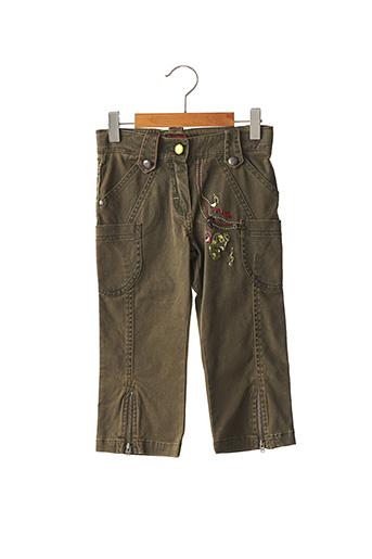 Pantalon casual vert MARESE pour fille