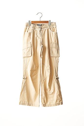 Pantalon casual beige JEAN BOURGET pour garçon