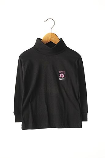 T-shirt manches longues noir KONIGSMUHLE pour fille